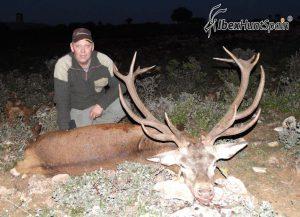 Iberian Red Deer, Red Stag, Iberian Red Deer hunt, Iberian Red deer hunting in Spain, hunting red stag in Spain, Red stag Hunting in Spain