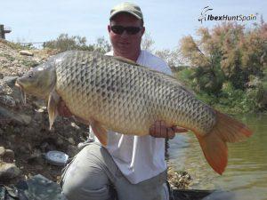 Carp fishing in Ebro