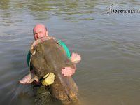 Catfish fishing in Ebro