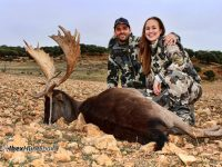 Black Fallow deer hunting in Spain